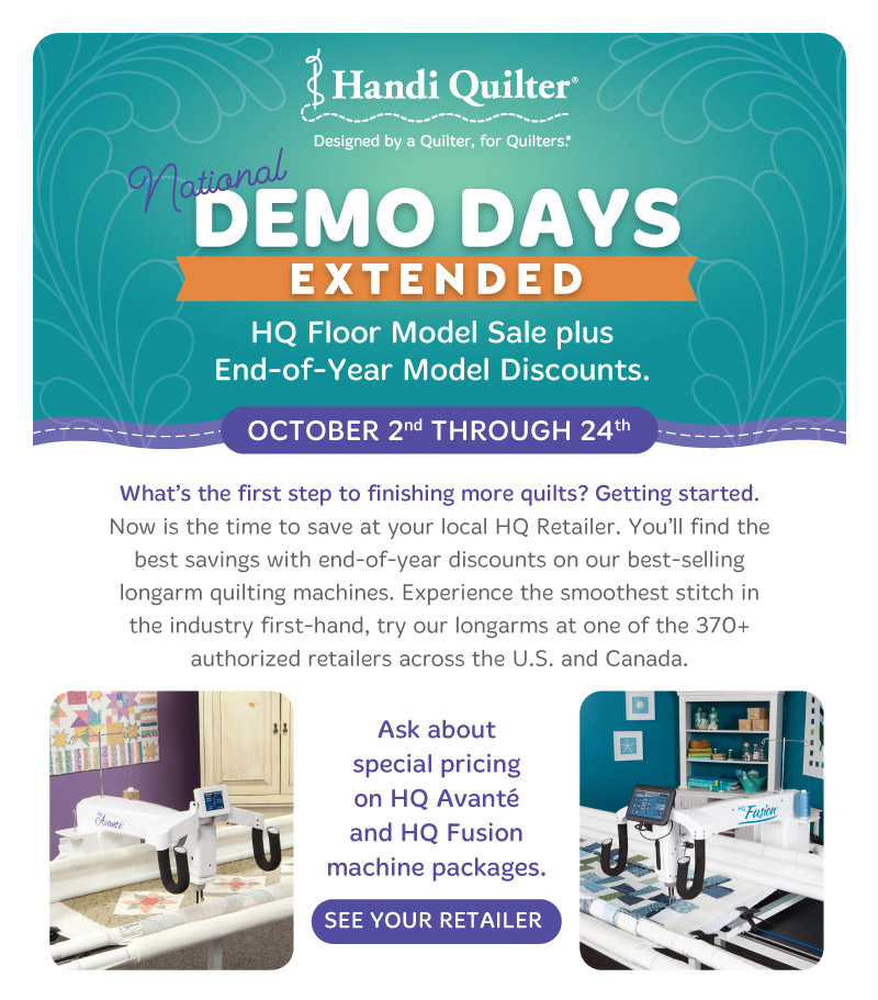 HQ Ext Demo Days